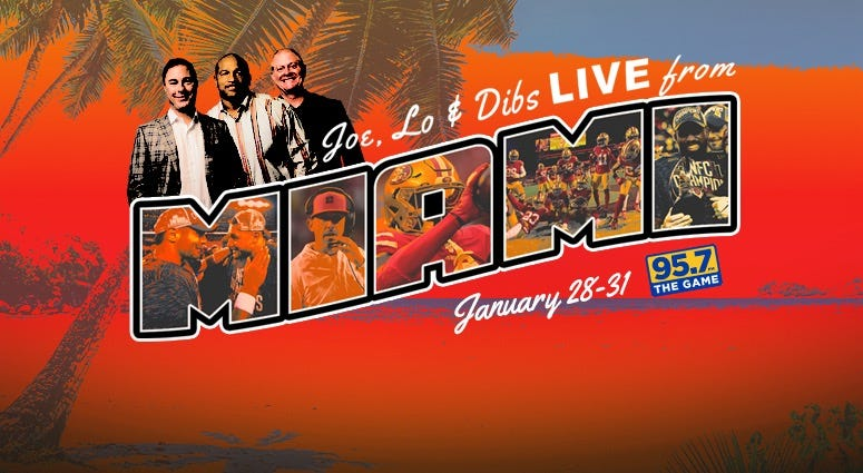 Joe, Lo & Dibs broadcast live from Miami