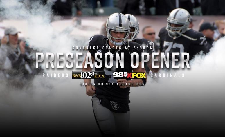 Derek Carr hopes to play in Raiders preseason opener   95 7