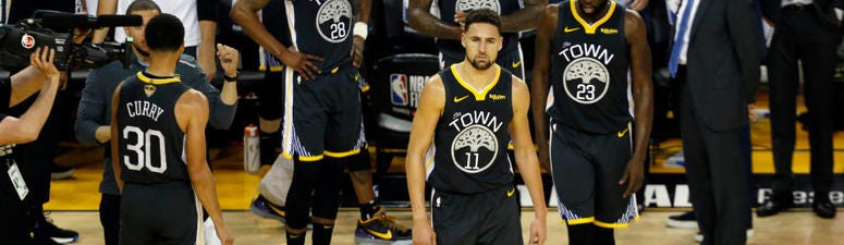 'He's walking normally and he's very optimistic' — Mychal Thompson updates Klay's status