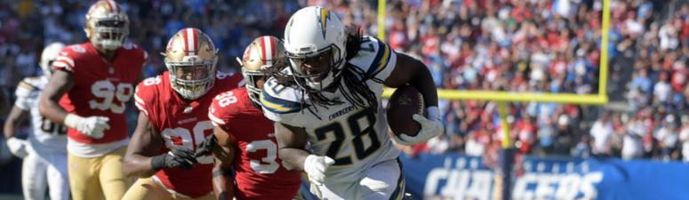 With Tevin Coleman out, Melvin Gordon isn't the answer for the 49ers