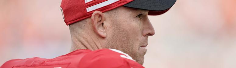49ers open offseason workout program without kicker Robbie Gould