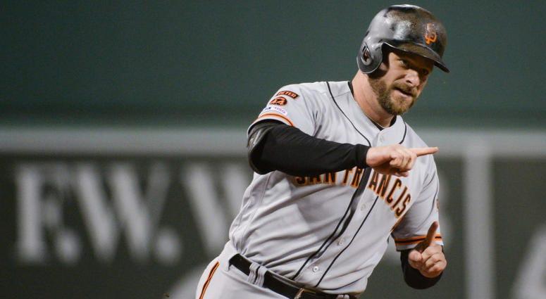 Stephen Vogt pens goodbye to Giants, fans