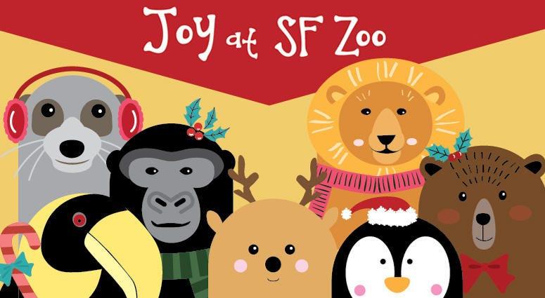 SF Zoo December 2019