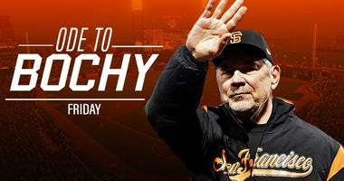 95.7 The Game honors the legendary manager on Friday