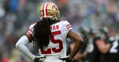 Sherman sprains knee