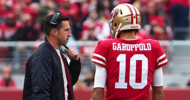 Peter King says 49ers will make the playoffs unless Jimmy G 'slips on a banana peel'