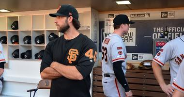 Report: Giants and Astros have 'engaged' in Bumgarner talks, but deal still 'doubtful'