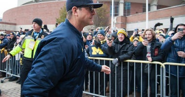Harbaugh wants to play football: 'COVID is part of our society'