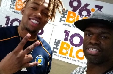 Tae East from Anderson picked up the 864HIPHOP Open Mic Prize on Wed Jan 30th 2019
