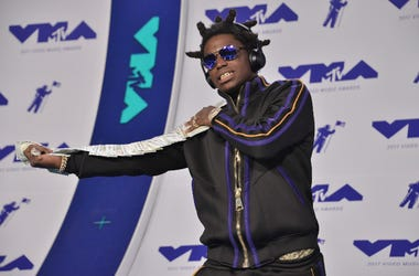 Kodak Black at the 2017 MTV Video Music Awards held at The Forum on August 27, 2017 in Inglewood, CA, USA