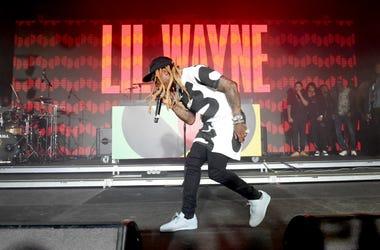 Lil Wayne performs onstage