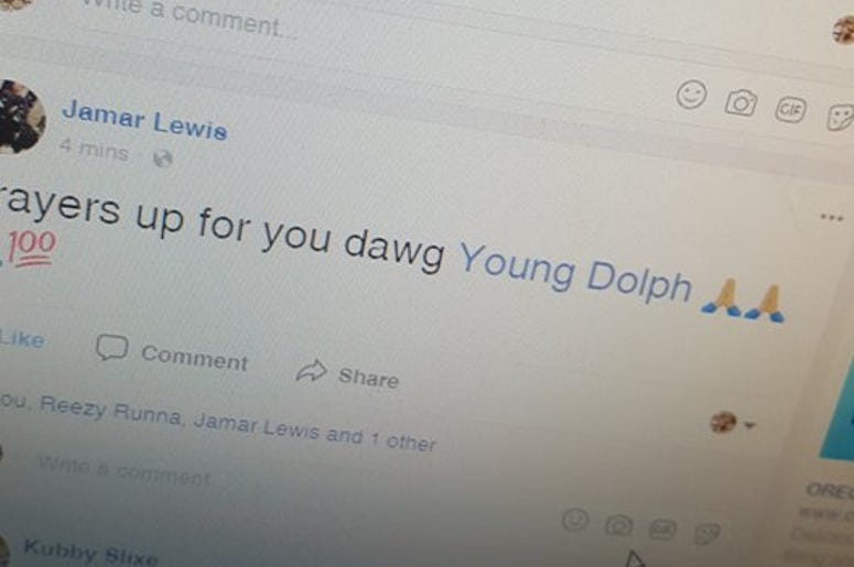 Prayers are goin up for Young Dolph tonight...