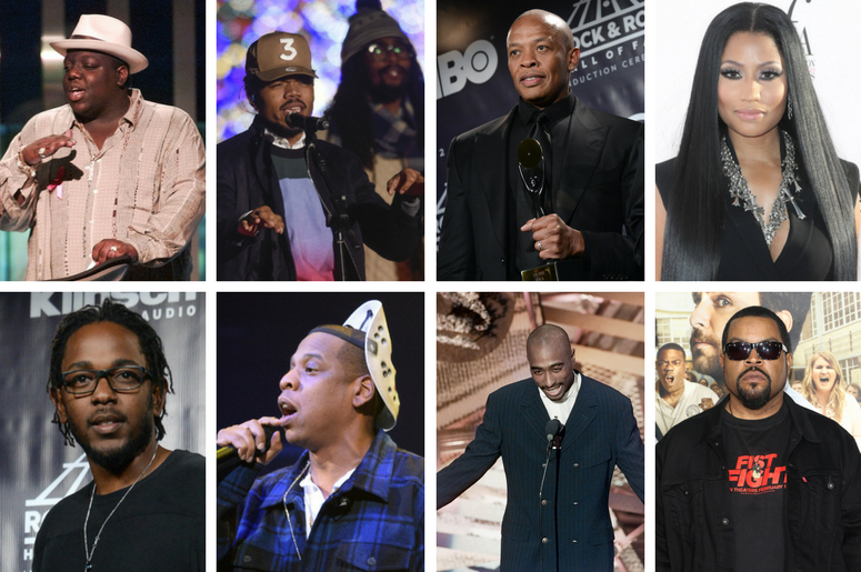 40 Years of Hip Hop featuring Biggie, 2 Pac,Chance the Rapper, Dr. Dre, Nicki Minaj, Kendrick Lamar, Jay Z, 2 Pac, Ice Cube