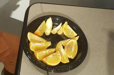 Oranges with Salt N' Pepa