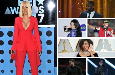 Cardi B, Idris Elba, Blac Chyna, Ludacris, Taraji P. Henson, Kevin Hart, Nicki Minaj