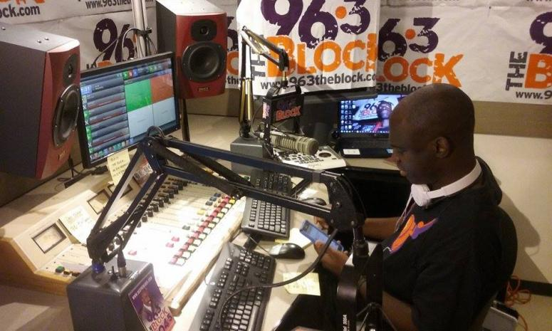 JJ Solomon in the The Block studio