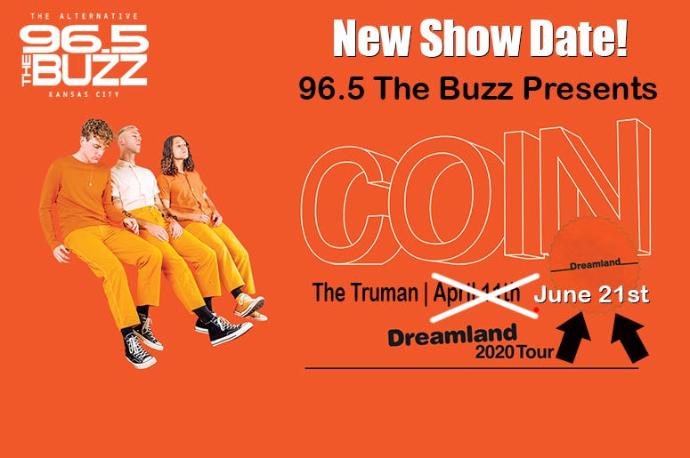 COIN: Dreamland Tour