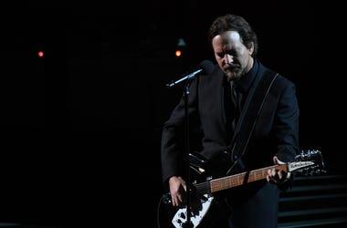 Eddie Vedder performs Room at the Top by Tom Petty
