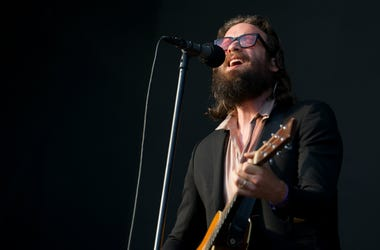 Father John Misty performs live on stage on day 3 of All Points East festival
