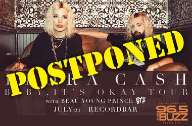 Flora Cash Postponed