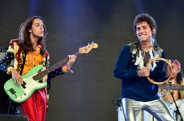 Greta Van Fleet perform onstage during the 2018 Coachella Valley Music And Arts Festival