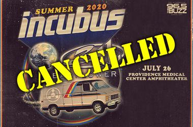 Incubus & 311 Cancel 2020