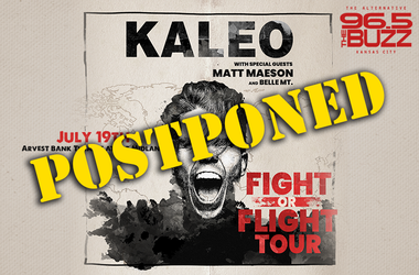 Kaleo & Matt Maeson - Postponed