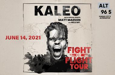 Kaleo FIGHT OR FLIGHT Tour
