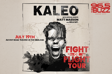 Kaleo Fight or Flight Tour