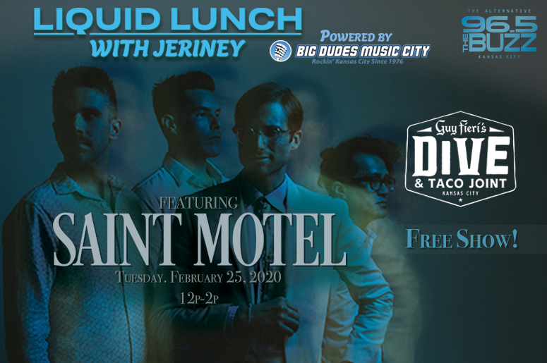 Liquid Lunch with Saint Motel
