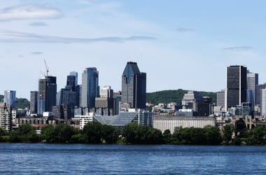 Scenic Montreal city skyline