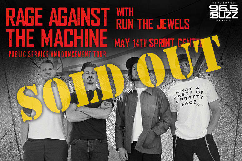 Rage Against The Machine is SOLD OUT!