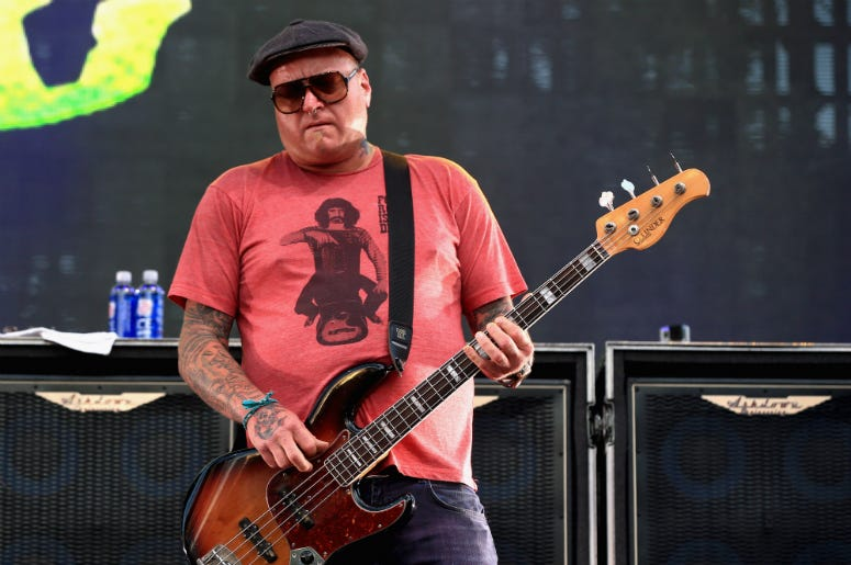 Eric Wilson of Sublime with Rome performs on the Dylan Stage during the 2014 Budweiser Made in America Festival in Los Angeles