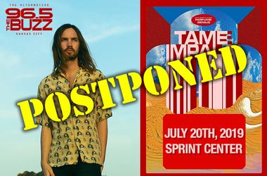Tame Impala Postponed