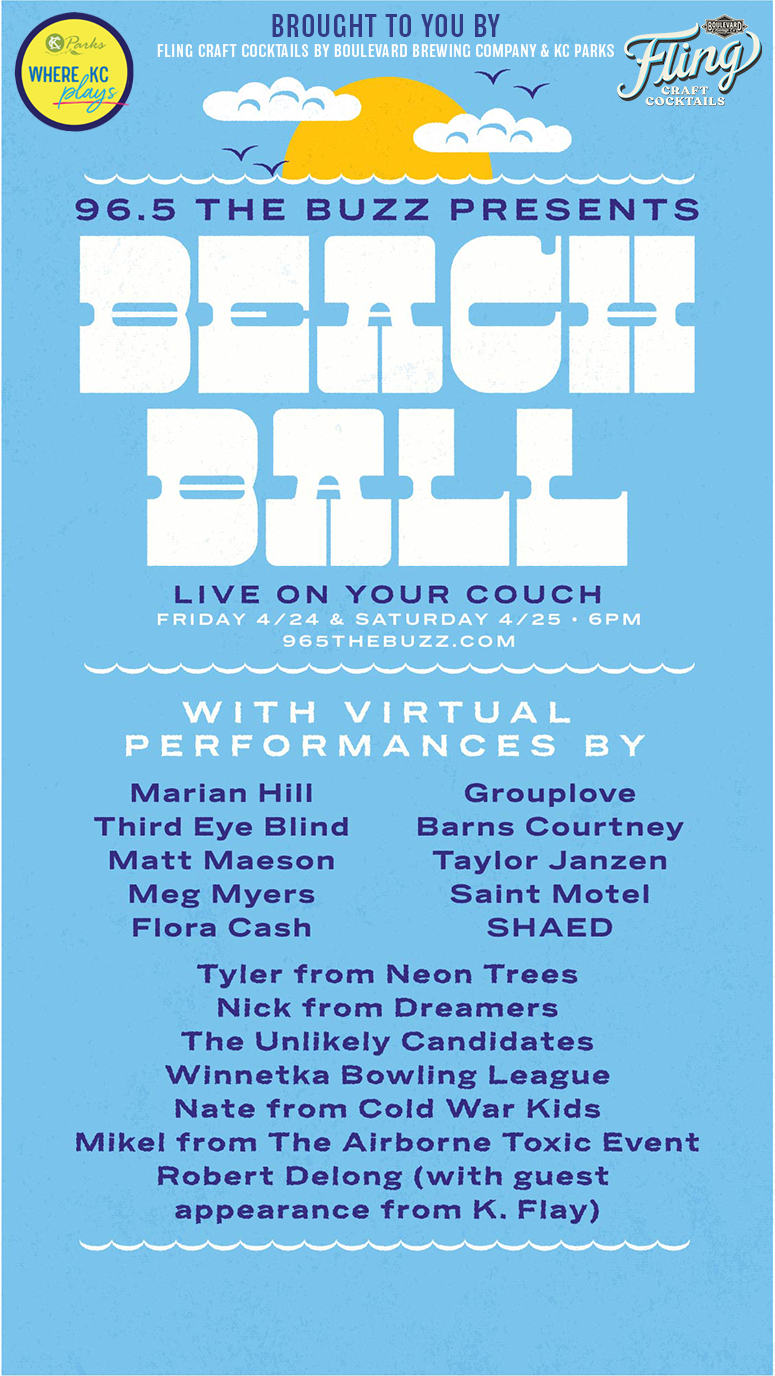 Virtual Buzz Beach Ball lineup