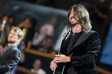 Dave Grohl of the Foo Fighters