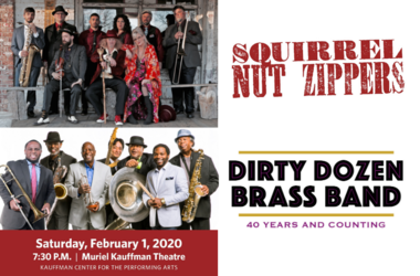 Squirrel Nut Zippers and The Dirty Dozen Brass Band