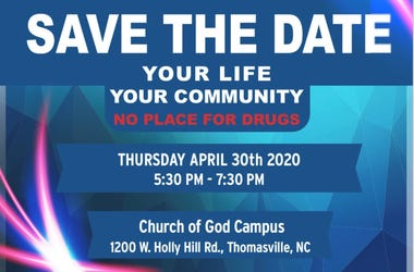 No Place For Drugs Event