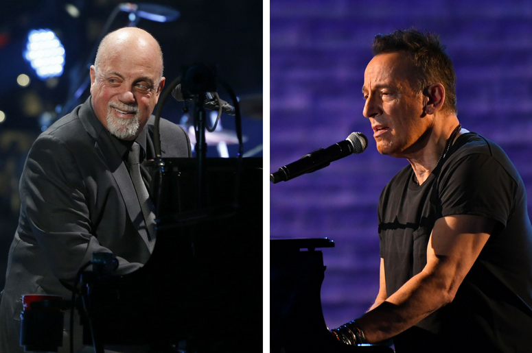 Billy Joel and Bruce Springsteen