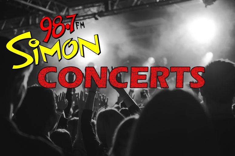 simon concert page