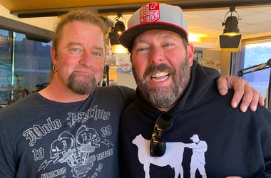 Bert Kreischer and Johnny Dare