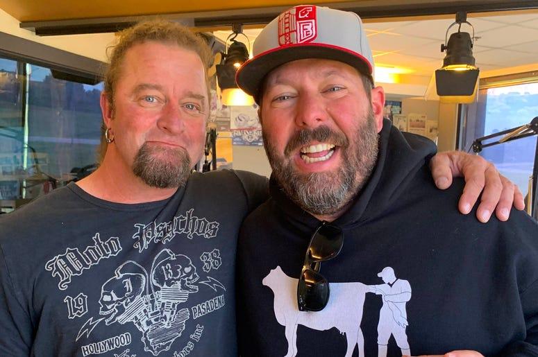 Bert Kreischer and Johnny Dare