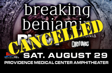 Breaking Benjamin - cancelled @ KC