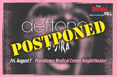 Deftones Postponed