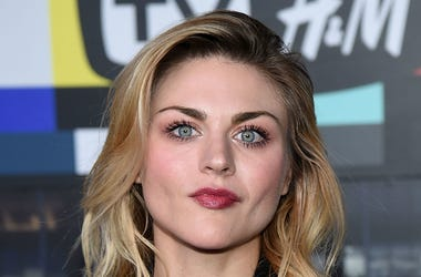 Frances Bean Cobain attends the Moschino x H&M fashion show