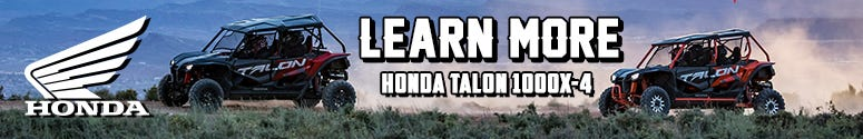 Learn More: Honda Talon 1000X-4