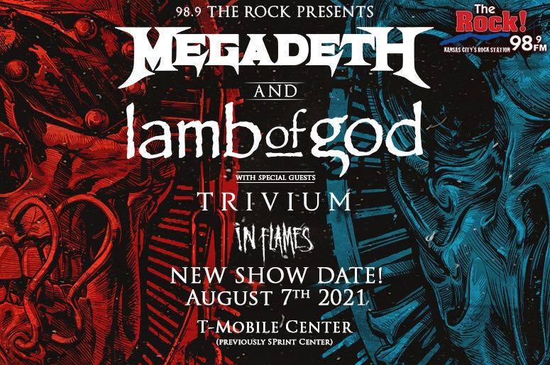 Megadeth & Lamb of God