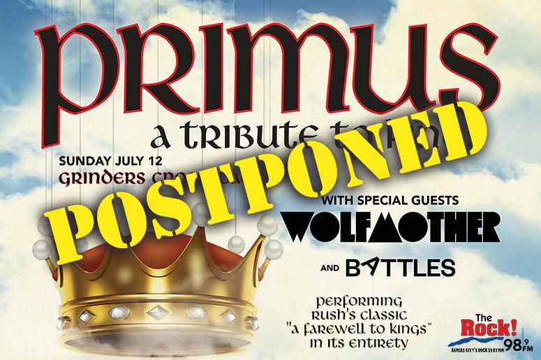 Primus - Postponed @ KC