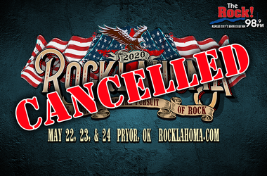 Rocklahoma has been cancelled for 2020.