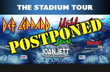 Stadium Tour Postponed